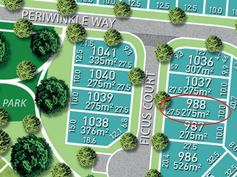 Lot 988 Ficus Court, Bohle Plains, Qld 4817