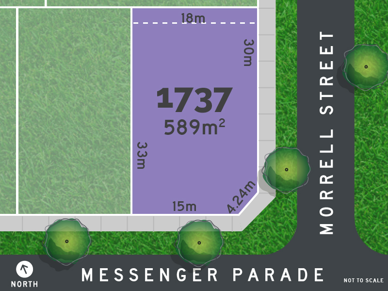 Lot 1737, Messenger Parade, Lucas, Vic 3350