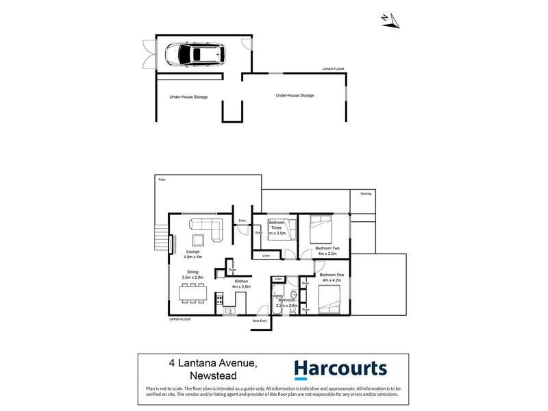 4 Lantana Avenue, Newstead, Tas 7250 - floorplan