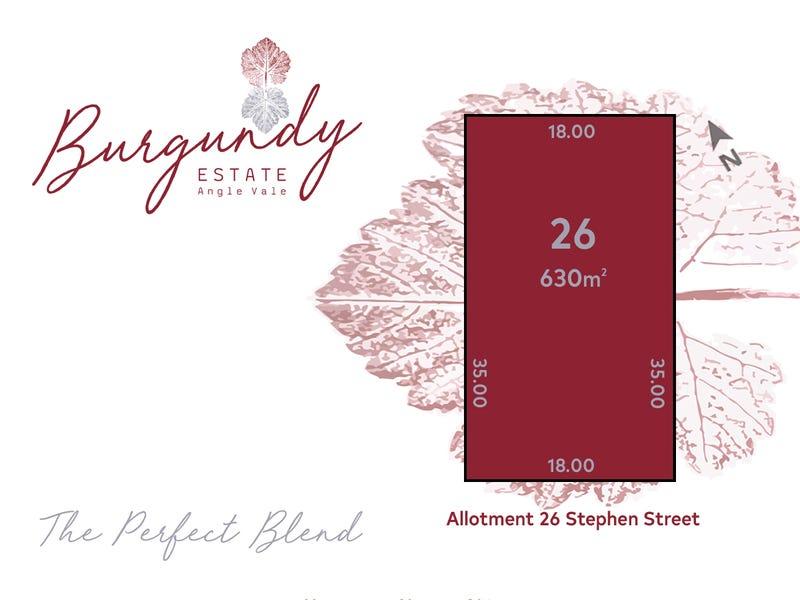 Lot 26 Stephen Street, Angle Vale, SA 5117