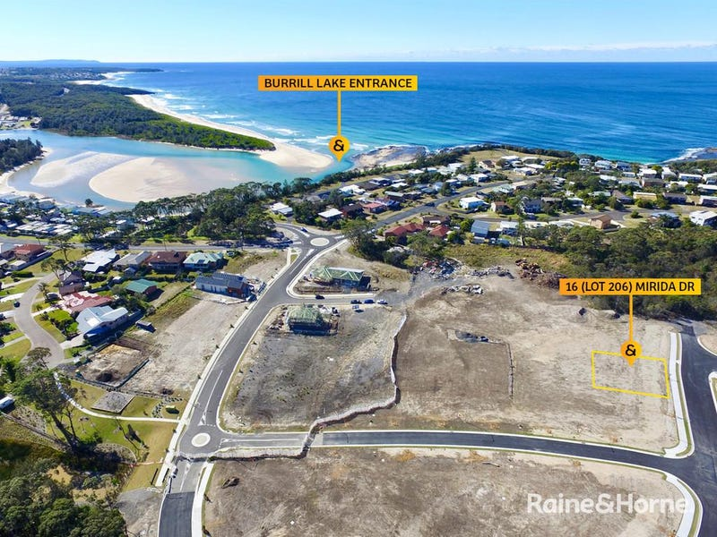 16 (Lot 206) Mirida Drive, Seaside Estate, Dolphin Point, NSW 2539