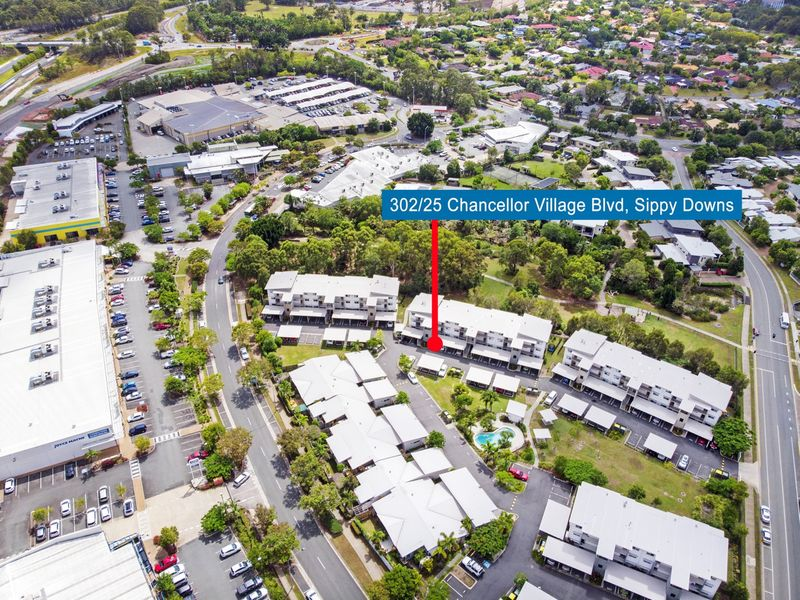 302/25 Chancellor Village Boulevard, Sippy Downs, Qld 4556