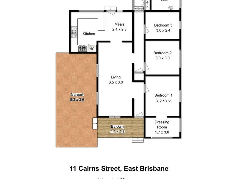 11 Cairns Street, East Brisbane, Qld 4169 - floorplan
