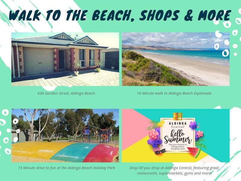 43A Gordon Street, Aldinga Beach, SA 5173