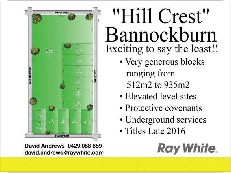 Lot 13 HILLCREST, Bannockburn, Vic 3331