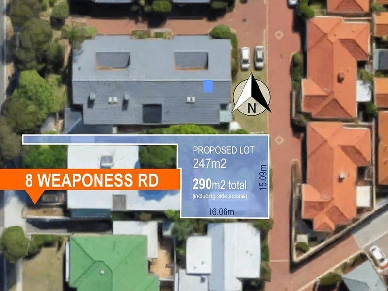 Lot 2, 8 Weaponess Rd, Scarborough, WA 6019