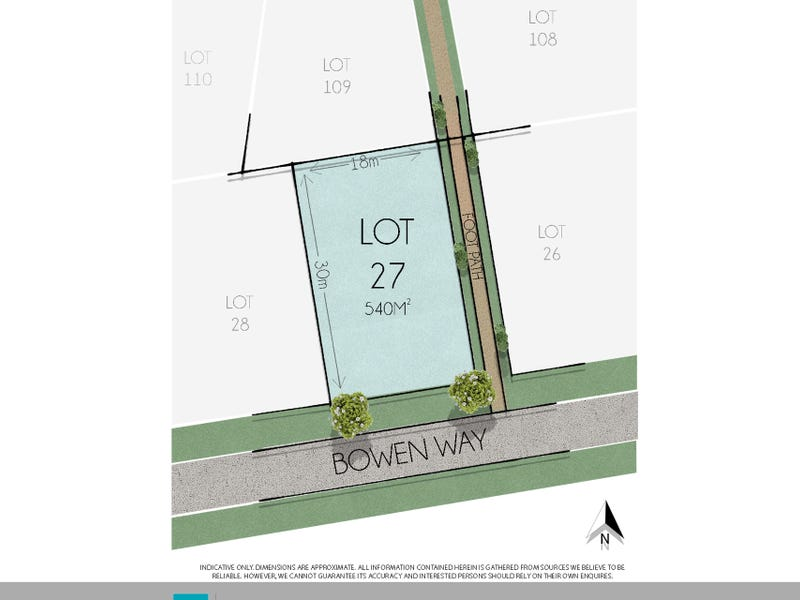 LOT 27  Bowen Way, Cudgen, NSW 2487
