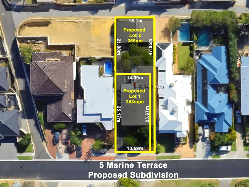5 Marine Terrace, Sorrento, WA 6020