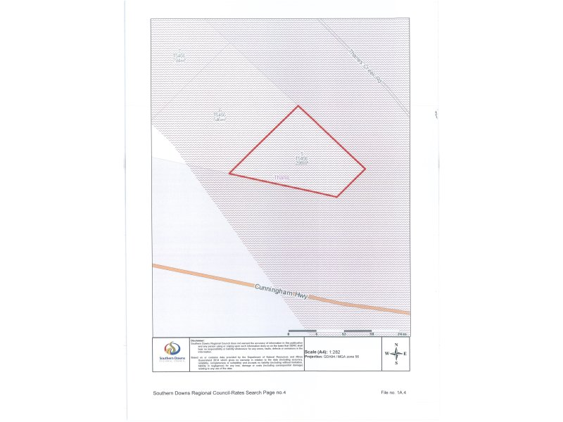 Lot 5, Thanes Creek Road, Thane, Qld 4370
