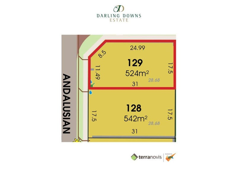 Lot 129 Andalusian Avenue, Darling Downs