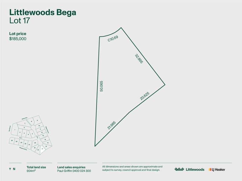Lot 17 Littlewoods Estate, Bega, NSW 2550