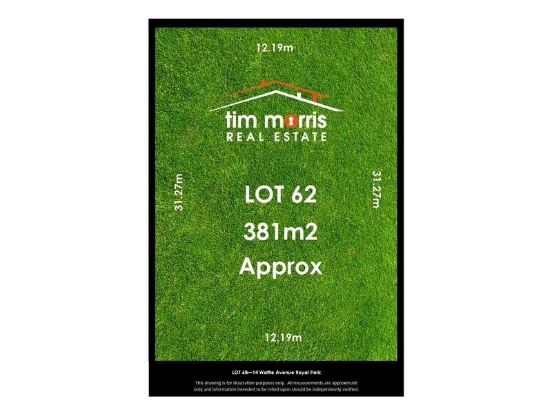 Lot 62, 14 Wattle Avenue, Royal Park, SA 5014