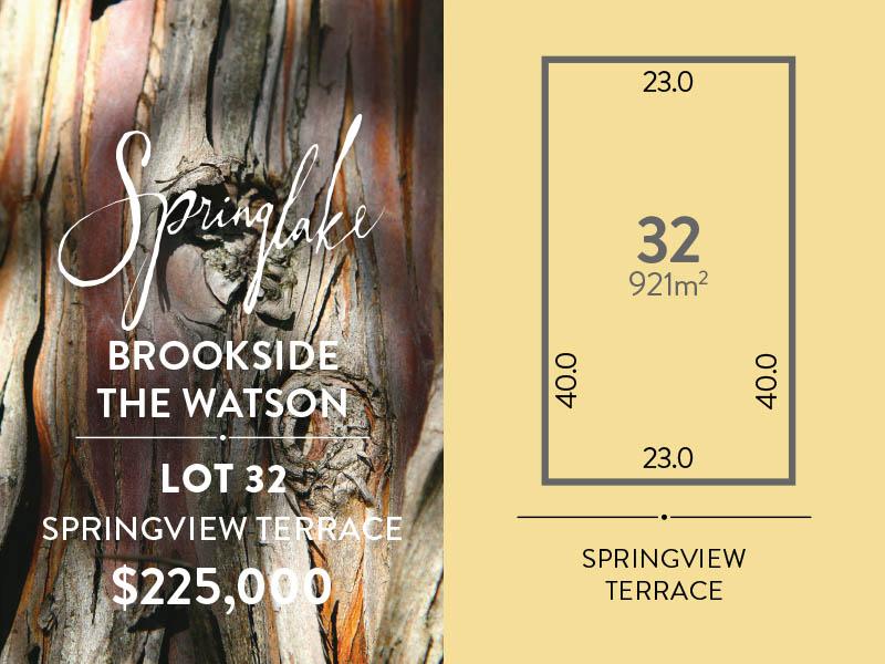 Lot 32, Springview Terrace, Mount Barker, SA 5251