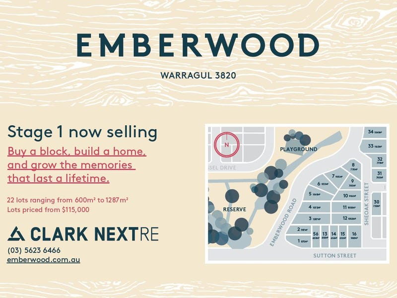 Lot 33, Emberwood Estate, Warragul, Vic 3820