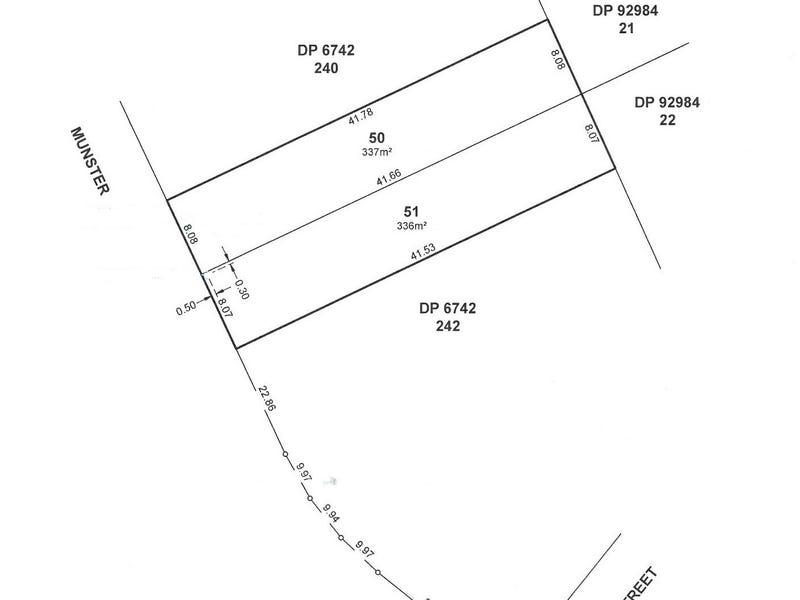 6 Munster Street (Lots 50 and 51), Windsor Gardens, SA 5087