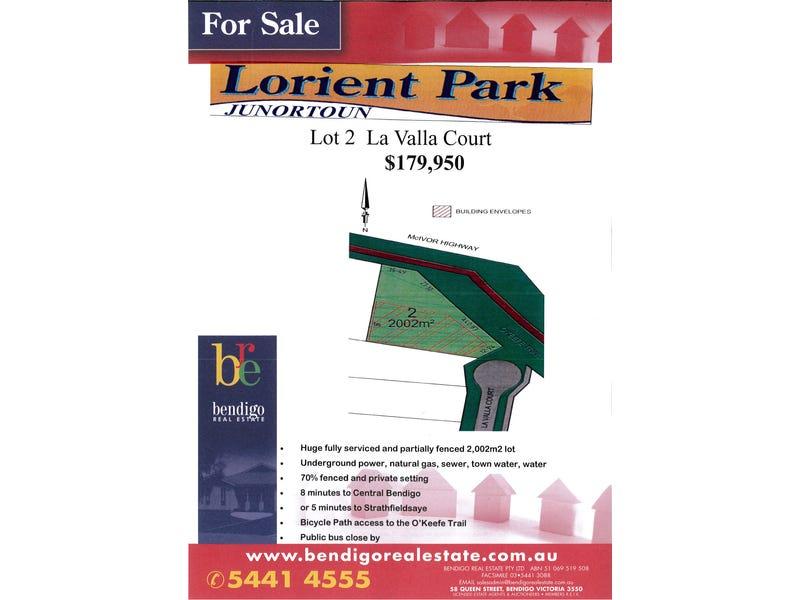 Lot 2 La Valla Court, Lorient Park Estate, Junortoun, Vic 3551