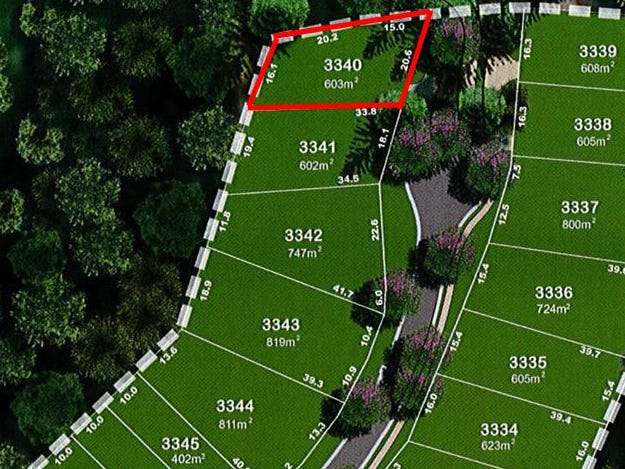Lot 3340, 72 Crest Ridge Parade, Brookwater, Qld 4300