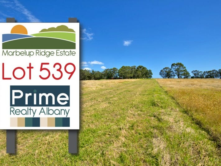Lot 539, 152 Link Road, Marbelup, WA 6330