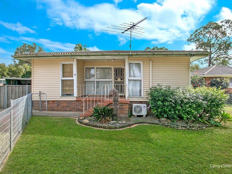 4 Roebuck Crescent, Willmot, NSW 2770