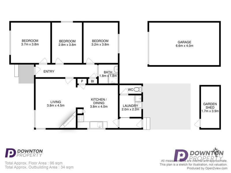 66 Fletcher Avenue, Moonah, Tas 7009 - floorplan