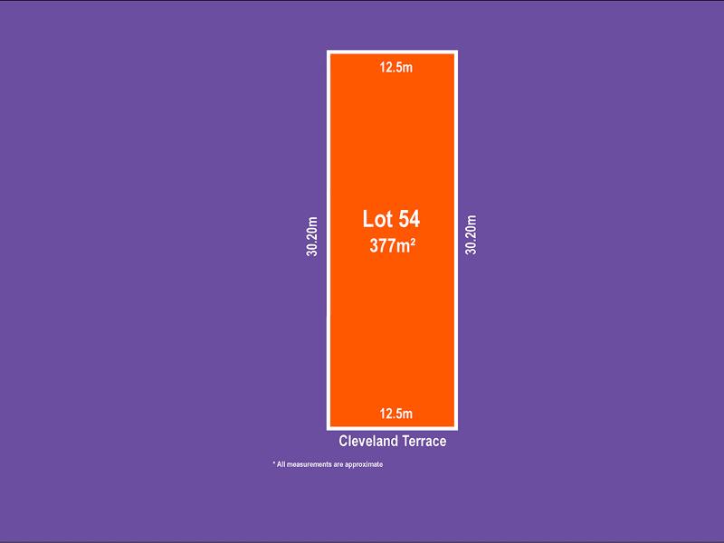 Lot 54, 101 Cleveland Terrace, Ottoway, SA 5013