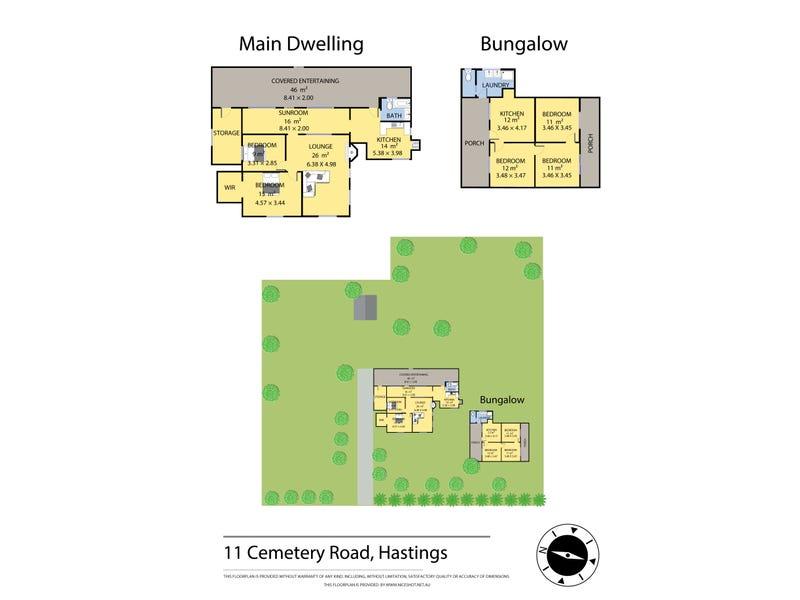 11 Cemetery Road, Hastings, Vic 3915