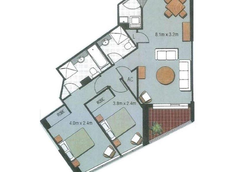 XX/14 Brown Street, Chatswood, NSW 2067 - floorplan