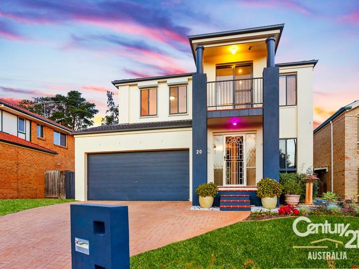 20 Hazelton Avenue, Kellyville Ridge, NSW 2155