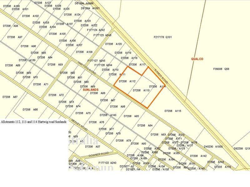 112 &113 Hartwig Road, Waikerie, SA 5330