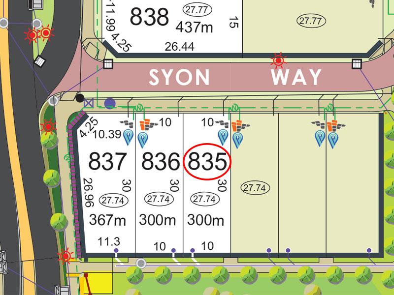 Lot 835, Syon Way, Piara Waters, WA 6112