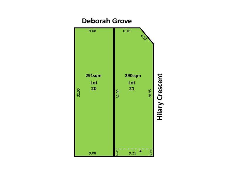 Lot 20 & 21, 22 Deborah Grove, Modbury North, SA 5092