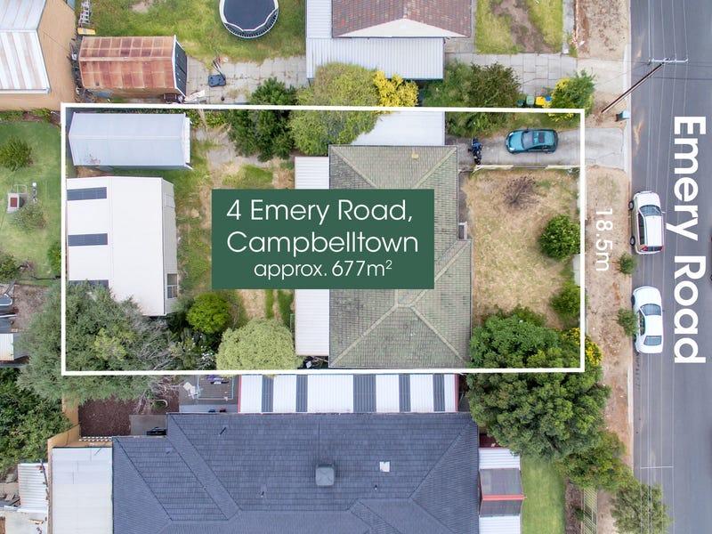 4 Emery Road, Campbelltown, SA 5074