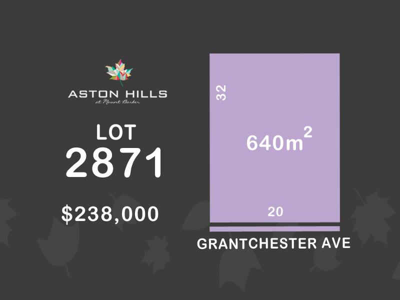 Lot 2871, Grantchester Avenue (Aston Hills), Mount Barker, SA 5251