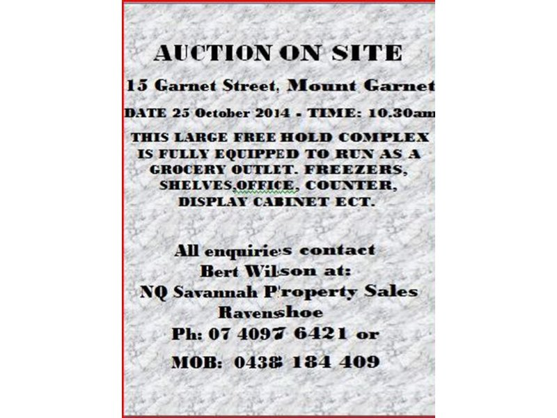 15 Garnet Street, Mount Garnet, Qld 4872