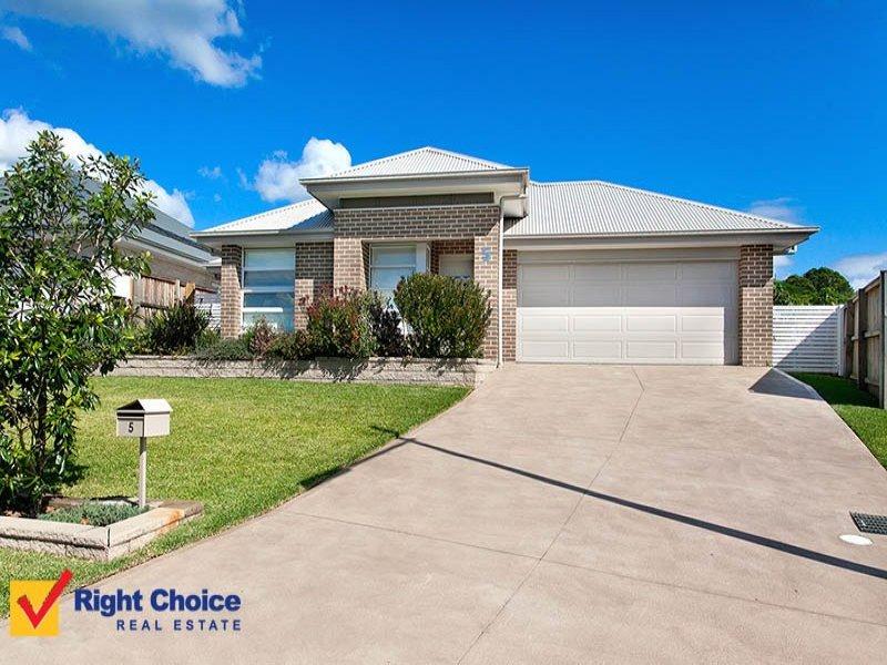 5 Wingello Crescent, Tullimbar, NSW 2527