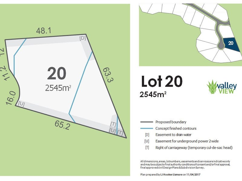 Lot 20 Valley View Estate, Richmond Hill Rd, Goonellabah, NSW 2480