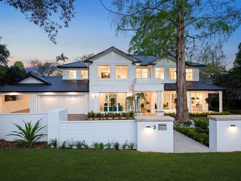 3 Hampden Avenue, Wahroonga, NSW 2076