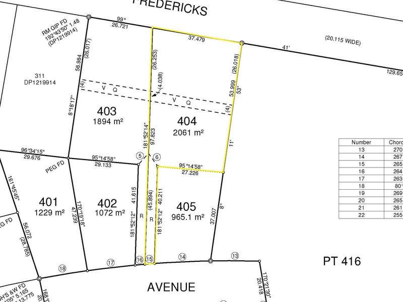 Lot 404 Lomandra Avenue, Caniaba, NSW 2480