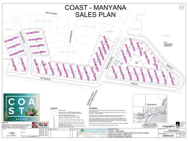 Lot 115, Manyana Drive, Manyana, NSW 2539