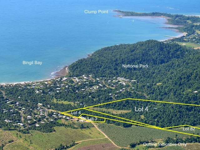 Lots 3, 4 & 82 Butler Road, Bingil Bay, Qld 4852