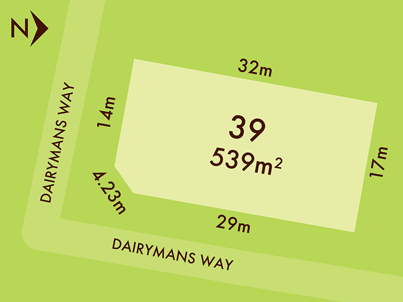 Lot 39, Corner Dairymans Way, Bonshaw, Vic 3352