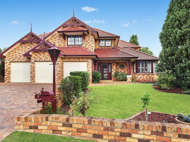 3 Gemeren Grove, West Pennant Hills, NSW 2125