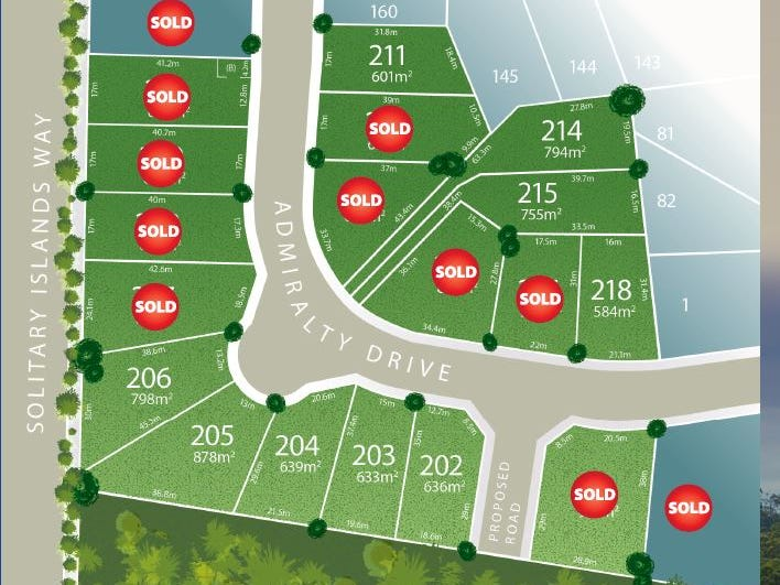 Lot 218 Admiralty Drive - Stage 11, Safety Beach, NSW 2456