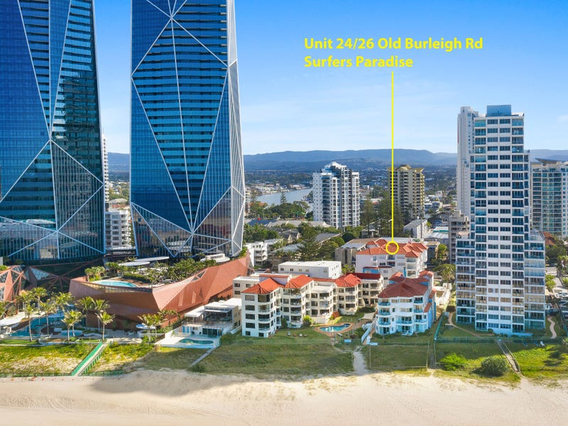 24 26 Old Burleigh Road Paros On The Beach Surfers Paradise Qld 4217 Property Details