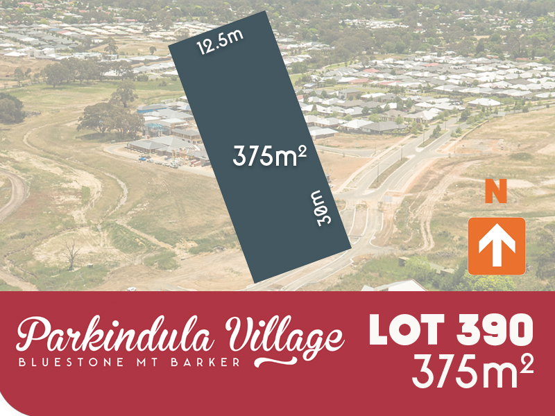 Lot 390, Cheriton Avenue, Mount Barker, SA 5251