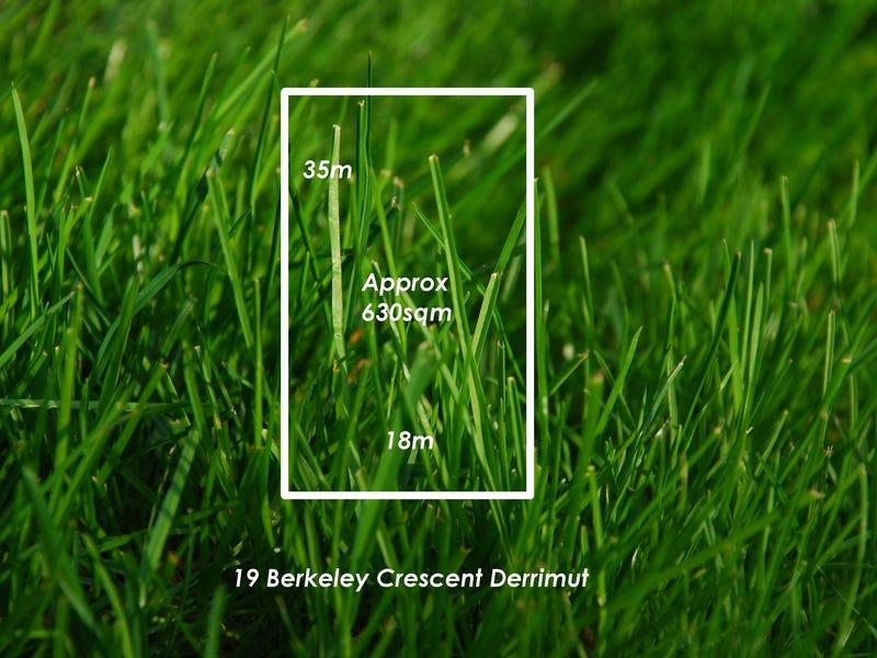 19 Berkeley Crescent, Derrimut, Vic 3030