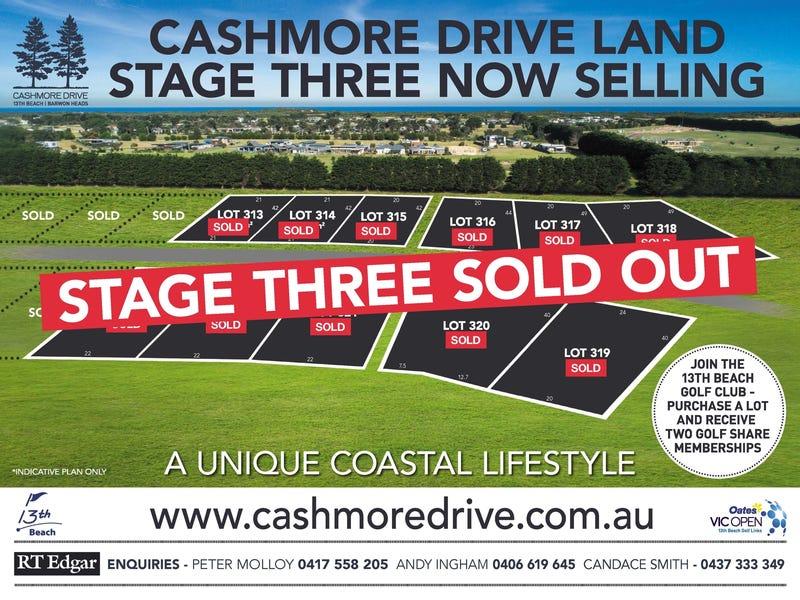 LOTS 313-323 Cashmore Drive, Connewarre