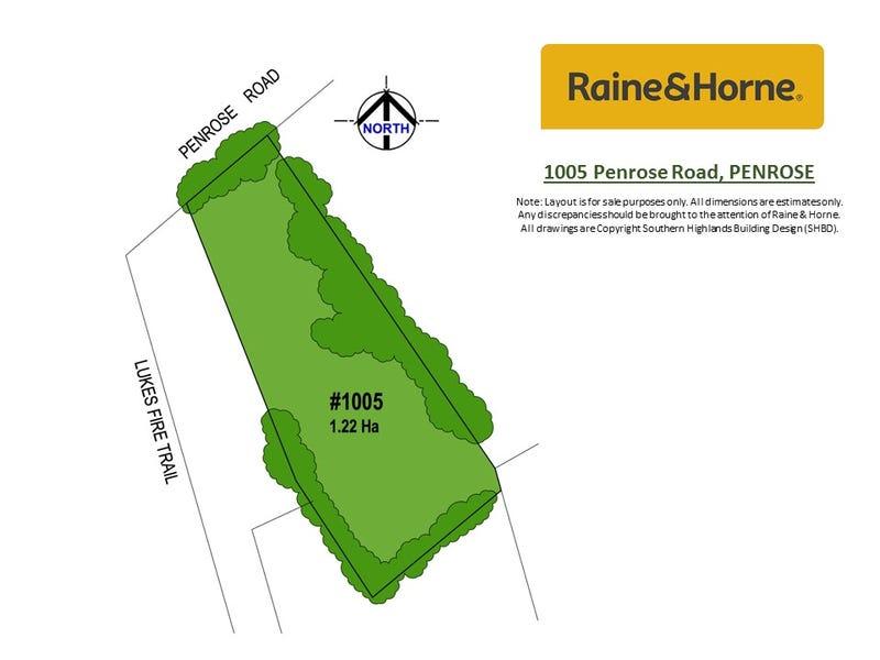 1005 Penrose Road, Penrose, NSW 2579