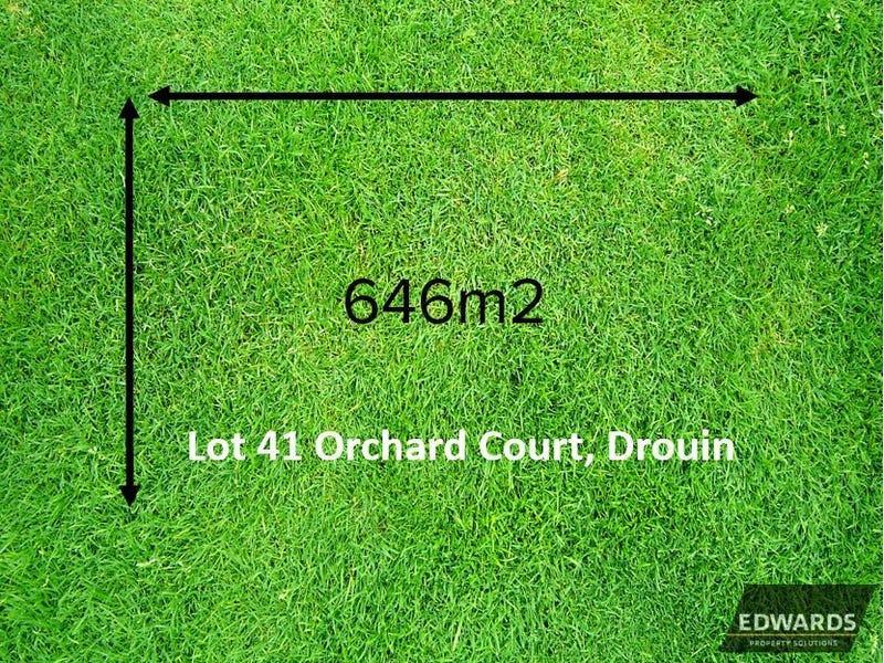 Lot 41, Orchard Court, Drouin, Vic 3818