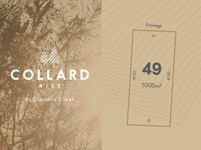 Lot 49, 60-122 Collard Drive, Diamond Creek, Vic 3089